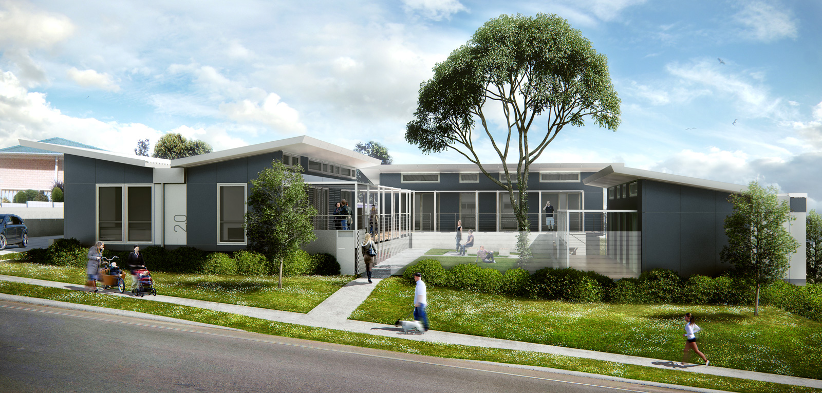 Xfrog architectural wodonga for House visualizer
