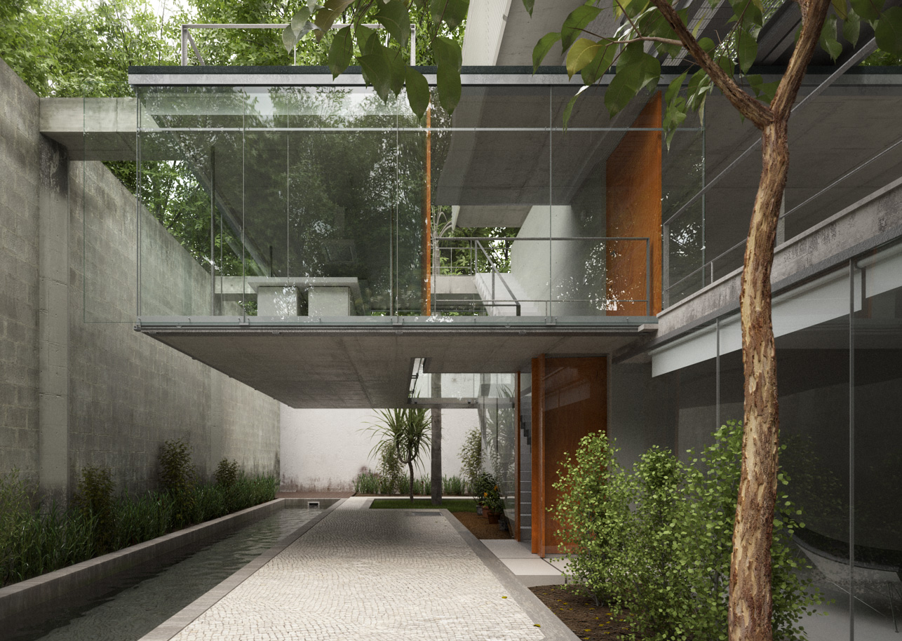 Xfrog Architectural Carapicuiba House