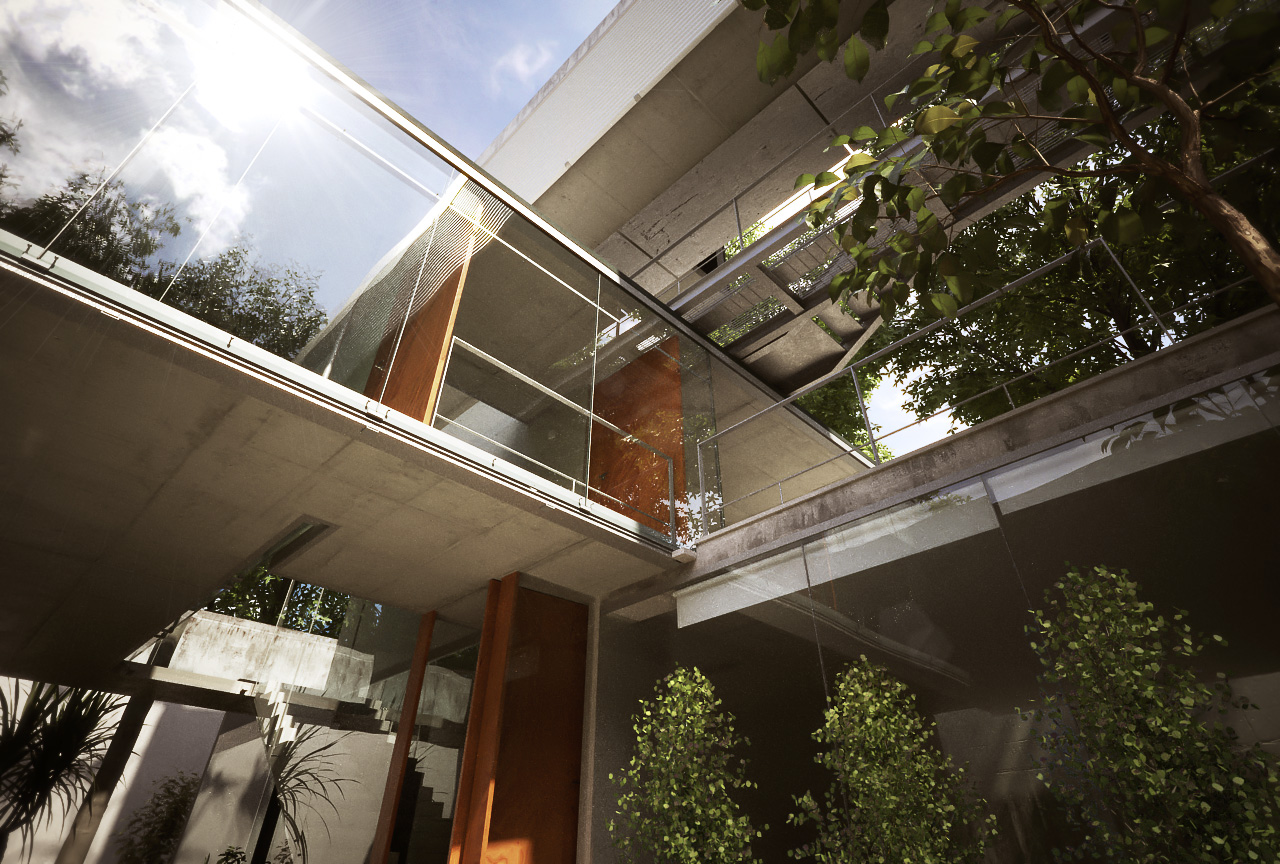 Xfrog Architectural Carapicuiba House Detail