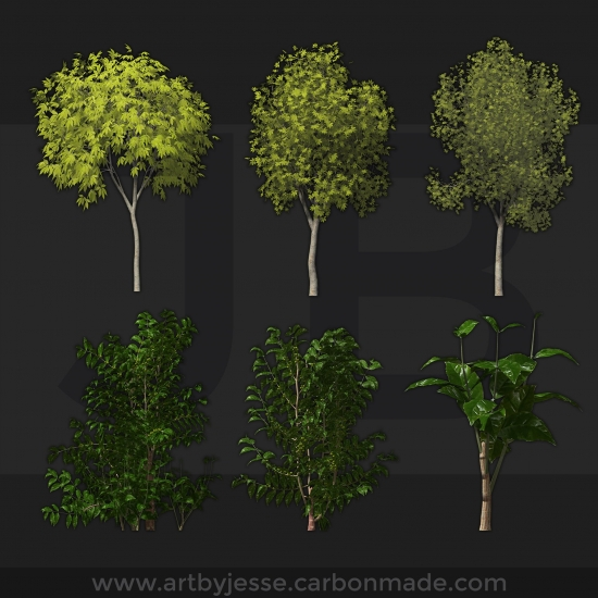 Low Poly Trees 1