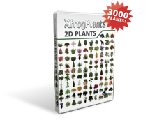 XfrogPlants 2D Plants