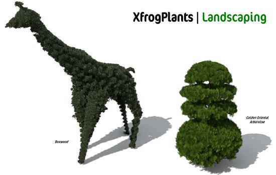 Xfrog For Sketchup XfrogPlants LANDSCAPIN...