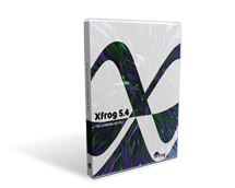 Xfrog for C4D Boxcover