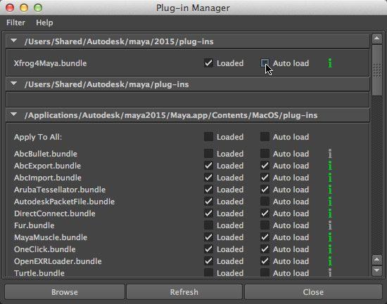 Installation - Mac OS X - Xfrog