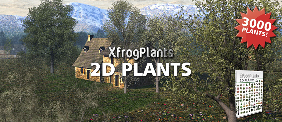 Now Available: 3,000 2D Plants!