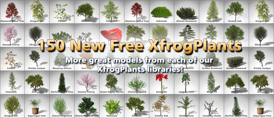 Download 150 Free 3D Plants – Limited Time Offer!