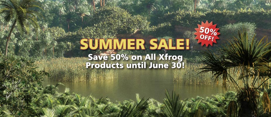 Summer Sale: 50% Off Until June 30!