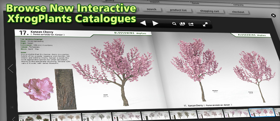 Browse New Interactive XfrogPlants Catalogs!