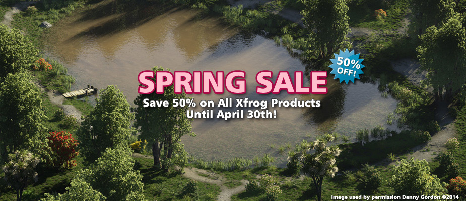 Spring Sale: 50% Off Until April 30!
