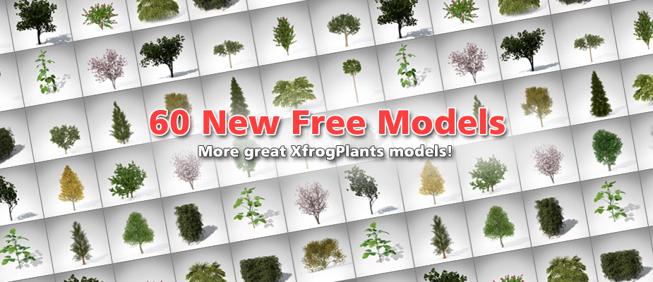 Download 60 Free 3D Plants!