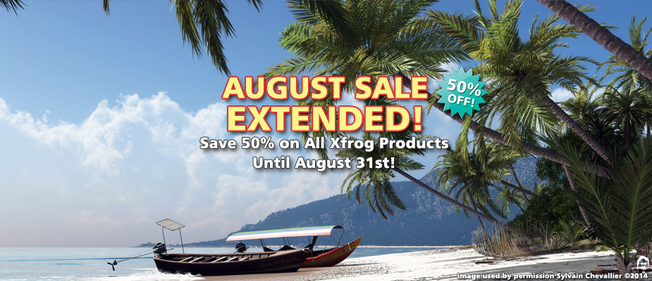 August Sale Extended: 50% Off Until August 31st!