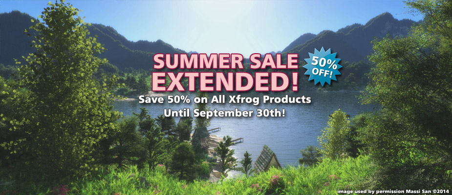 Summer Sale Extended: 50% Off Until September 30th!