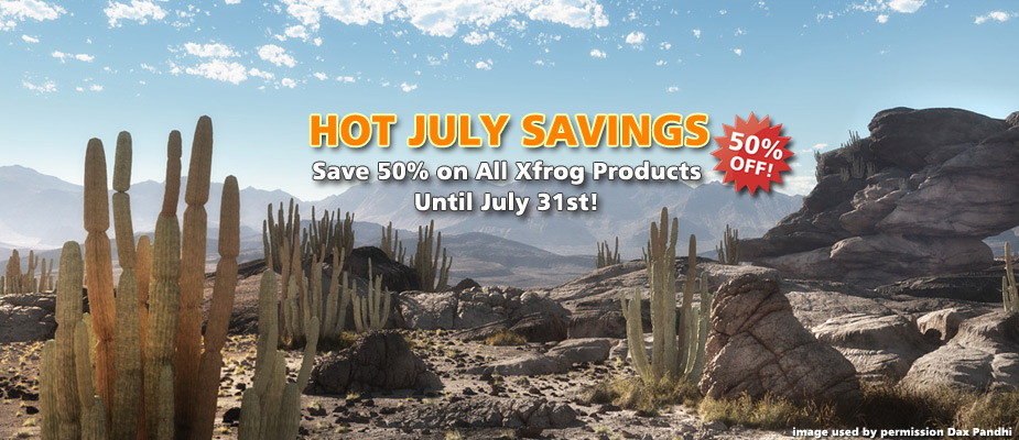 Hot July Savings: 50% Off Until July 31st!