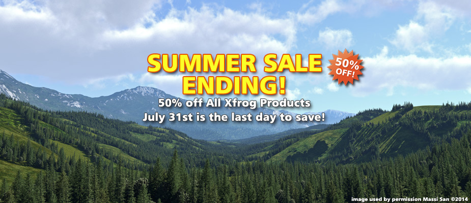 Summer Sale Ending: 50% Off Until July 31st!