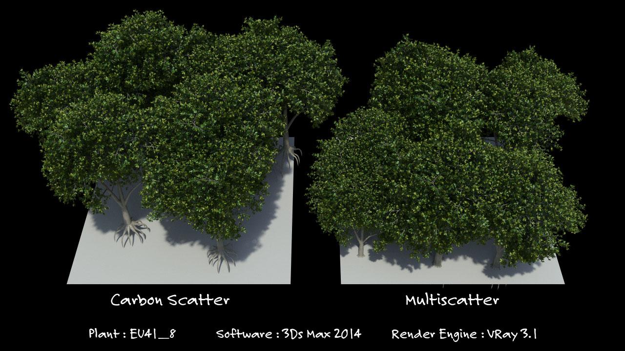 Xfrog For Sketchup Carbon Scatter - Xfrog