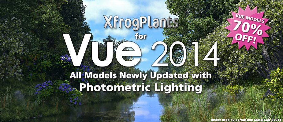 XfrogPlants for Vue 2014 – Now 70% Off!