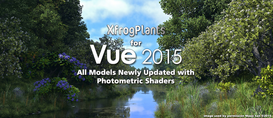 XfrogPlants for Vue 2015