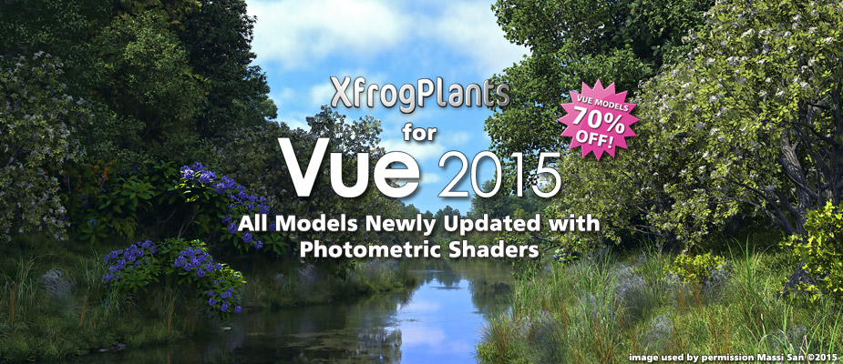 XfrogPlants for Vue 2015 – Now 70% Off!