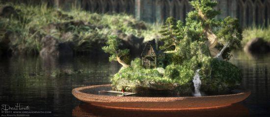 Bonsai Gnome Home