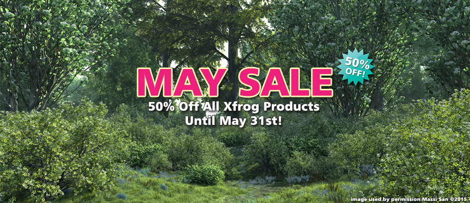 May Sale: Save 50% Until May 31st!