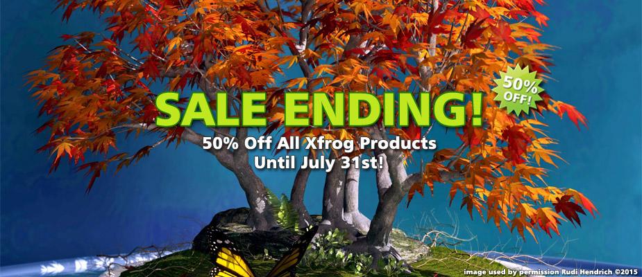 Summer Sale Ending: Save 50% Until July 31st!