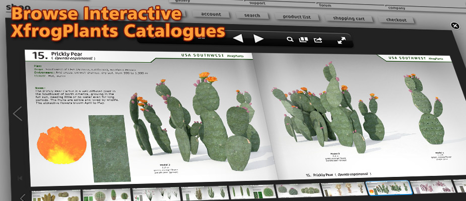 Browse Interactive XfrogPlants Catalogs!