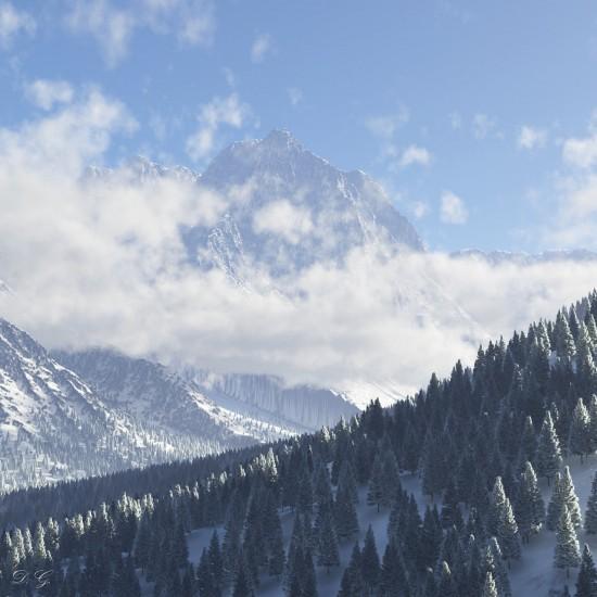 Winter in Valais - Danny Gordon