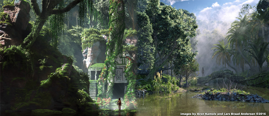 Jungle Book Concept Art
