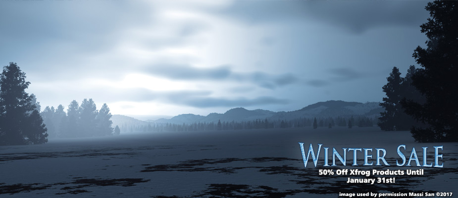 Winter Sale – 50% Off Until January 31st!