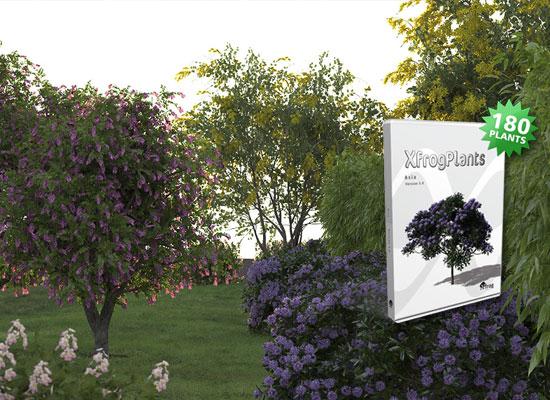 Get XfrogPlants Asia: 180 New 3D Plant Models! - Xfrog