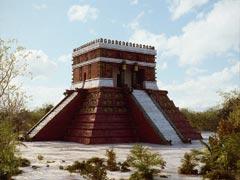 Chichen Itza Temple Rebuild