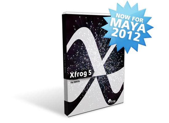 Xfrog 5 for MAYA 2012